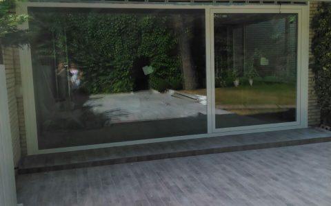 Cerramiento a patio exterior
